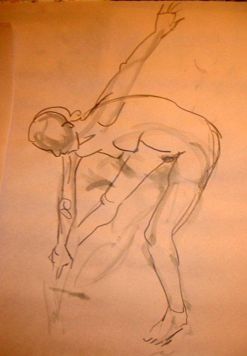 Maya, gesture drawing