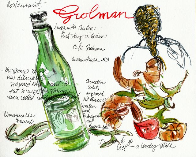Berlin: lunch at Restaurant Grolman