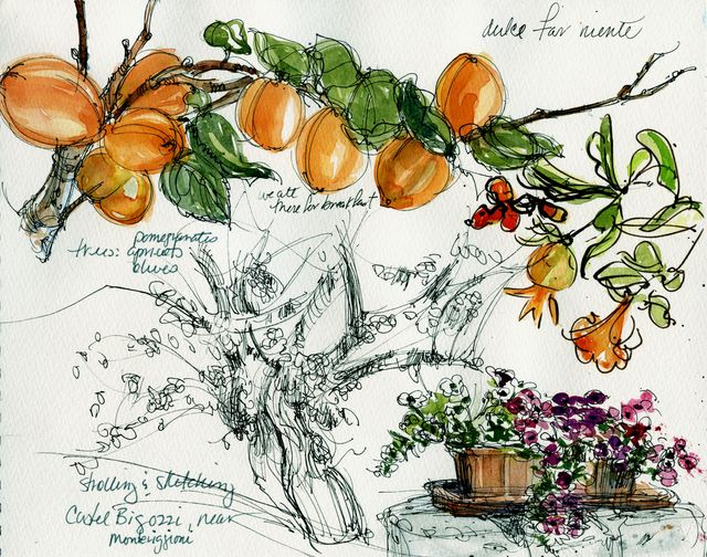Castel Bigozzi sketches