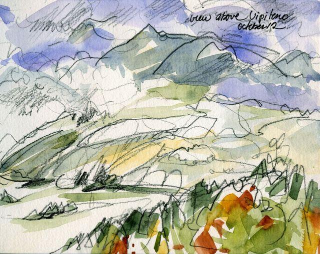 Italy, the Dolomites, near Vipiteno