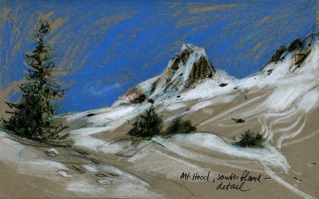 Mt Hood south flank
