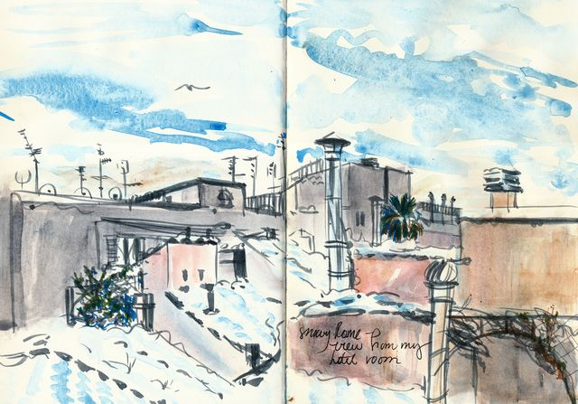 Rome: rooftops revised