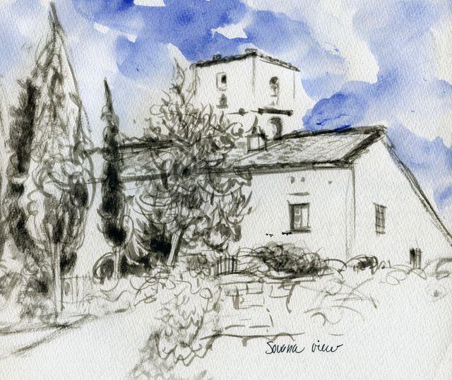 Sovana view