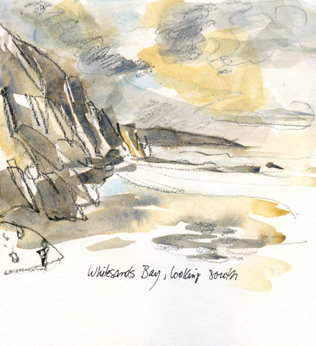 Wales: Ogof Golchfa, at Whitesands Bay
